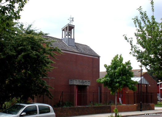 Holy Trinity with St Augustine of Hippo, Harrow Green