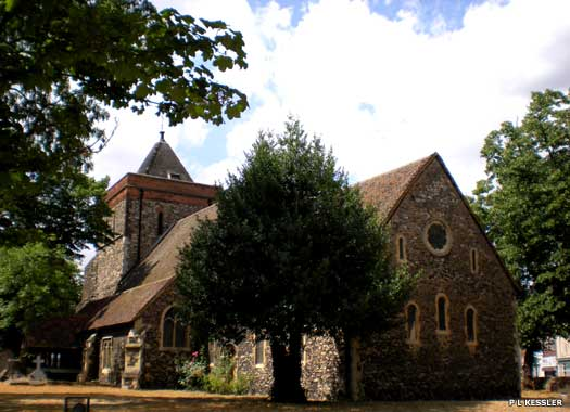 Rainham Parish Church of St Helen & St Giles