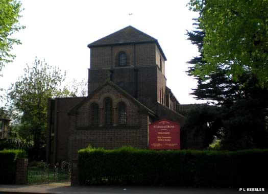 The Parish Church of St John the Devine Romford