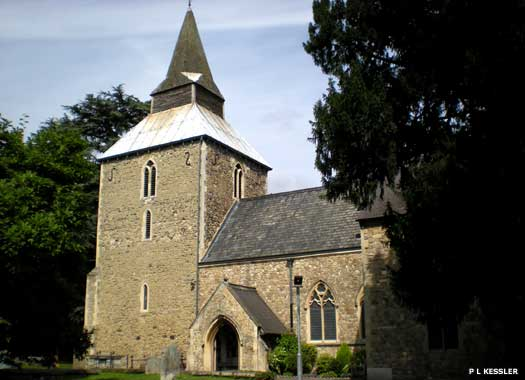 The Parish Church of St Laurence