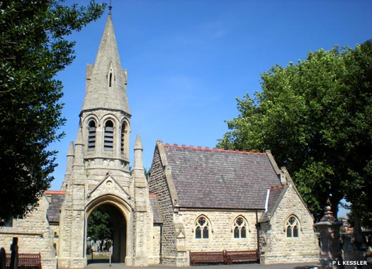 Queen's Road Cemetery Chapel, Walthamstow