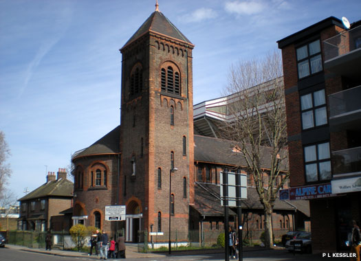 Our Lady of Compassion Catholic Church, West Ham, London