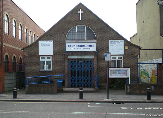 Ridley Christian Centre (London City Mission), West Ham, London