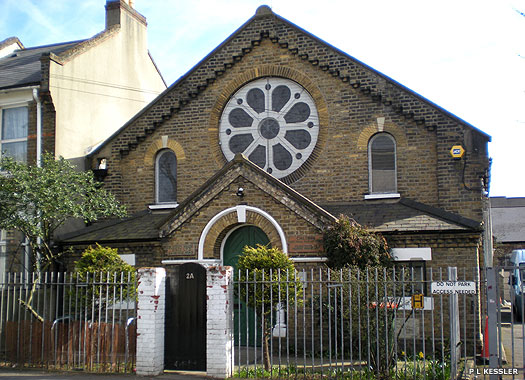 Upton Cross Baptist Church, West Ham, Newham, London