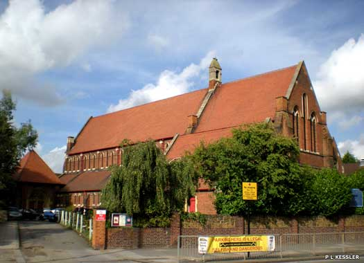 St George's Church Enfield Wash