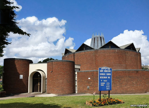 The Annunciation and St Augustine Catholic Church, Beckenham Hill