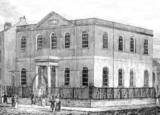 Humber Street Wesleyan Chapel, Kingston-upon-Hull, East Thriding of Yorkshire