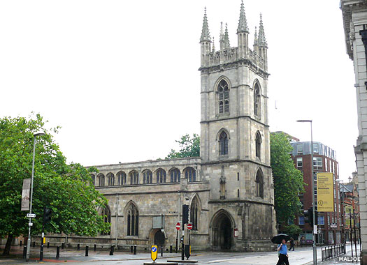 The Church of St Mary the Virgin Lowgate, Kingston-upon-Hull, East Thriding of Yorkshire