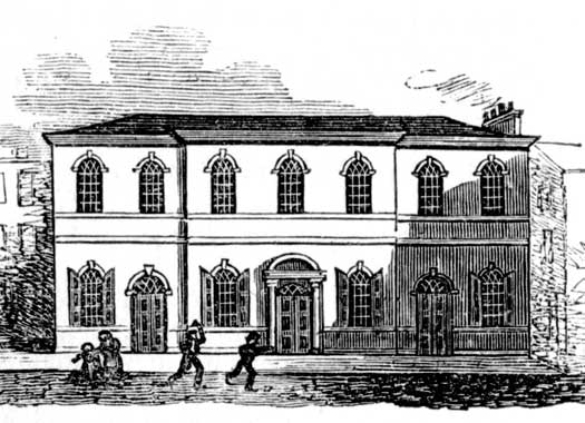 George Yard Wesleyan Chapel, Kingston-upon-Hull, East Thriding of Yorkshire