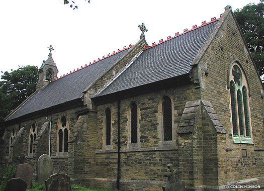 St Giles Parish Church of Marfleet, Kingston-upon-Hull, East Thriding of Yorkshire