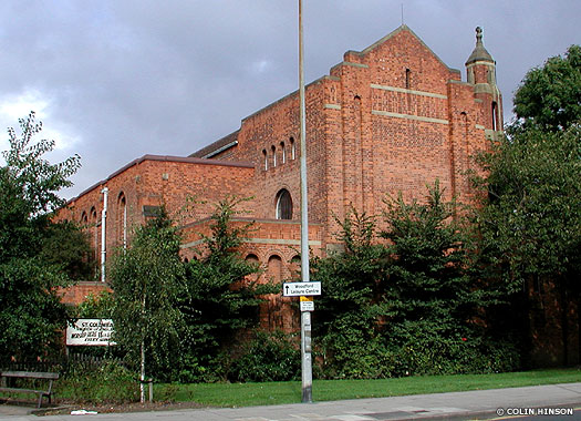 St Columba's Church Drypool, Hull, East Yorkshire