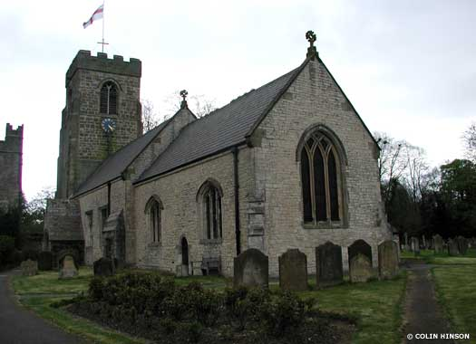 Parish Church of St Nicholas West Tanfield