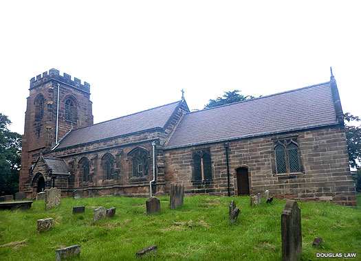 Church of St James the Great, Ince, Cheshire