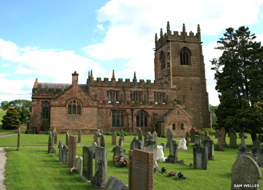 Church of St Michael & All Angels, Marbury, Cheshire