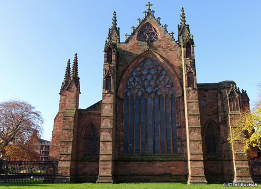 Cathedral Church of the Holy and Undivided Trinity, Carlisle, Cumbria