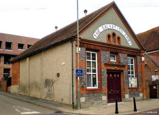 Salvation Army, Newbury, Berkshire