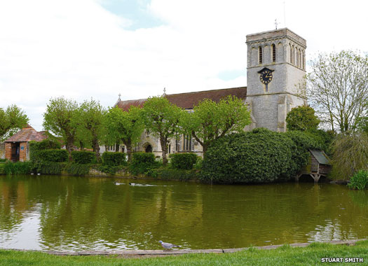 St Mary's Church, Church End, Haddenham, Buckinghamshire