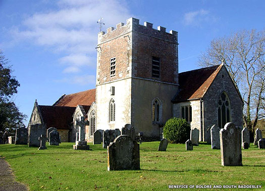 Church of St John the Baptist, Boldre, New Forest, Hampshire