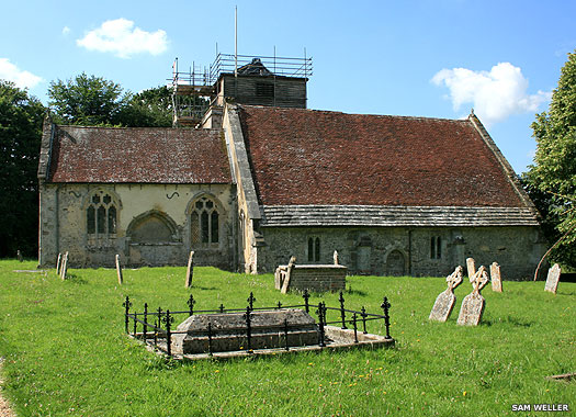 Church of St George, Damersham, New Forest, Hampshire