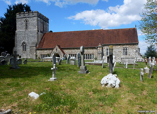 All Saints Church, Dibden, New Forest, Hampshire
