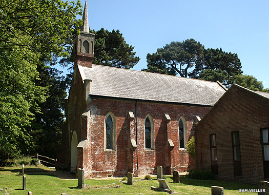 Parish Church of St Paul, East Boldre, New Forest, Hampshire