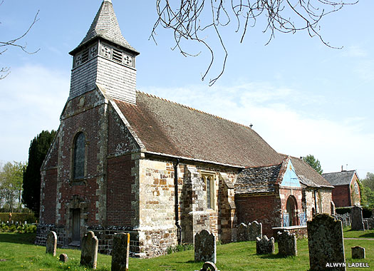 St Mary's Church, Ellingham, New Forest, Hampshire