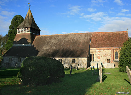 Church of St Peter & St Paul, King's Somborne, Hampshire