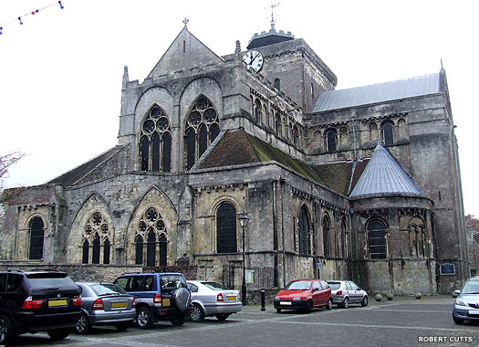 Romsey Abbey, Romsey, Hampshire