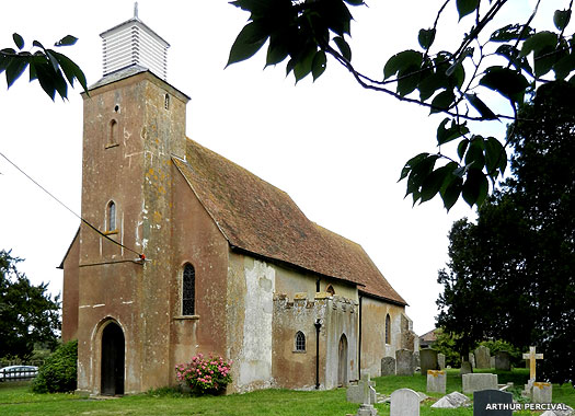 The Church of St Leonard, Baddlesmere