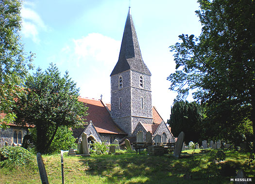 All Saints Parish Church in Birchington