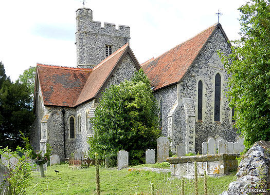 Church of St Peter & St Paul, Boughton-under-Blean, Kent