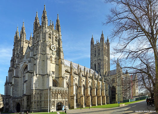 Western entrance, Canterbury Cathedral, Canterbury, Kent