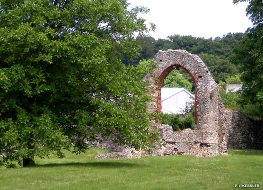 Chapel of St Pancras at St Augustine's Abbey