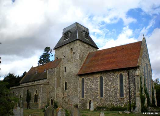 The Church of St Mary the Virgin Chislet, Kent