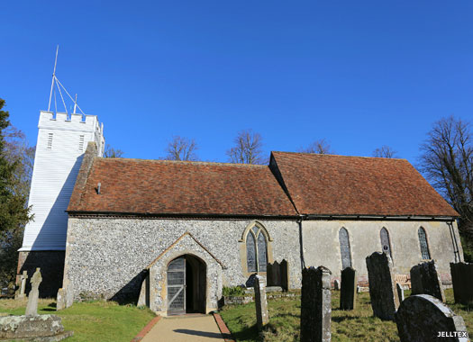 Church of the Beheading of St John the Baptist, Doddington, Kent