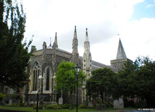 The Parish Church of St Mary the Virgin
