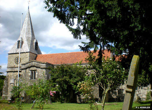 St Mary's Church, East Farleigh, Kent
