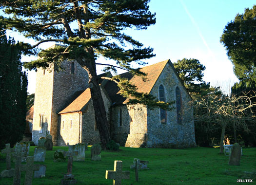 St Peter & St Paul, Upper Hardres, Kent