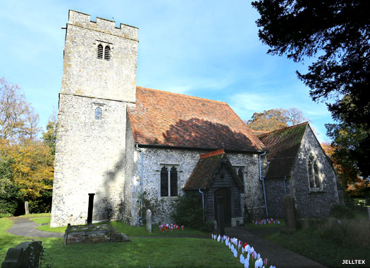 Church of St Mary & the Holy Cross, Milstead, Kent