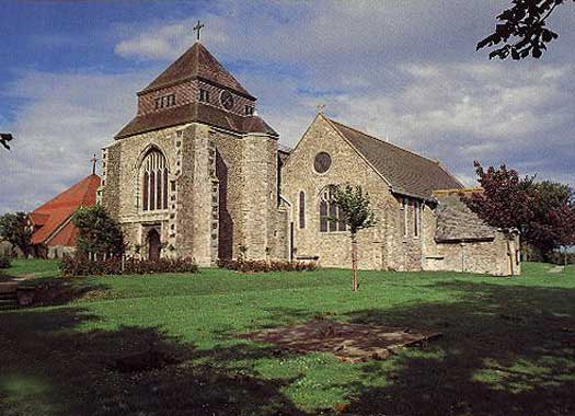 Church of St Mary with St Sexburgha in Kent