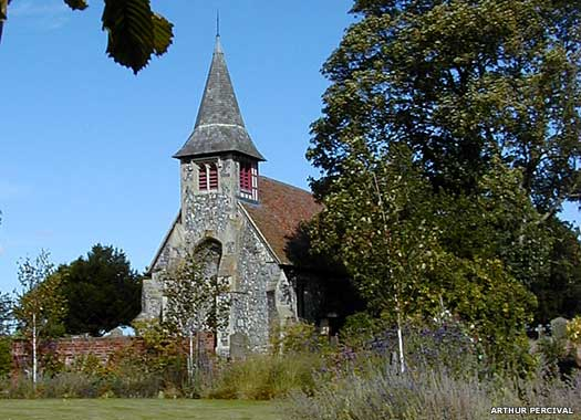 St Peter's Church Oare
