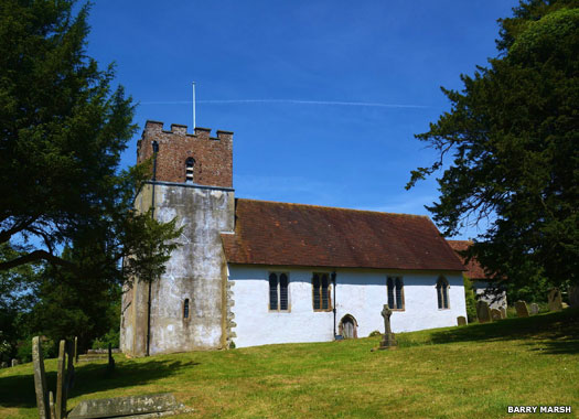 Church of All Saints, Petham, Kent