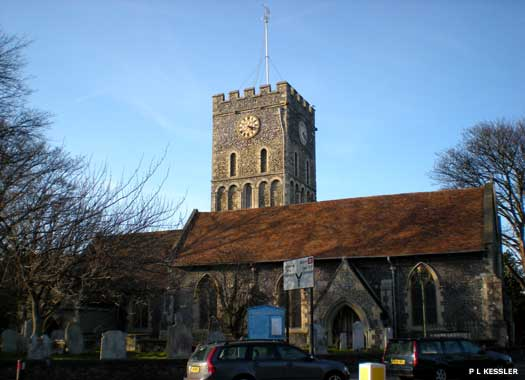 The Parish Church of St Laurence-in-the-Isle-of-Thanet