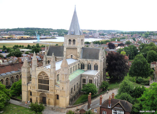 Rochester Cathedral in Kent