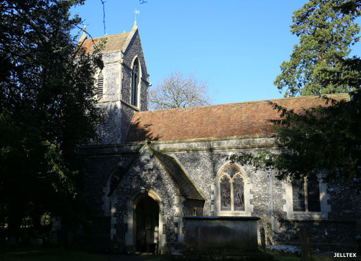 Church of St John the Baptist, Tunstall, Kent