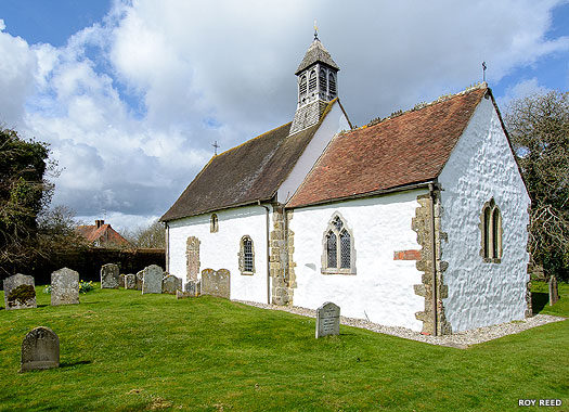 St Botolph's Church, Hardham, West Sussex