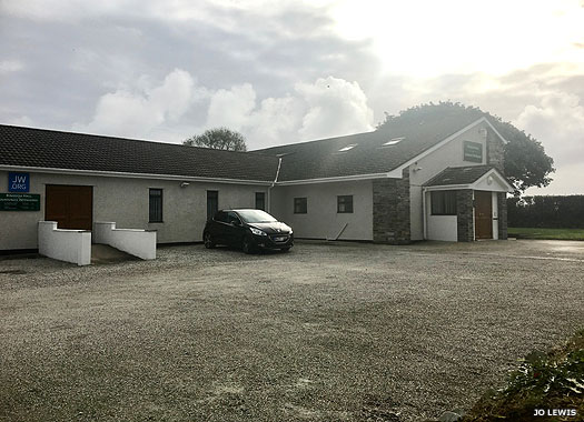 Kingdom Hall of Jehovah's Witnesses, Biscovey, Cornwall