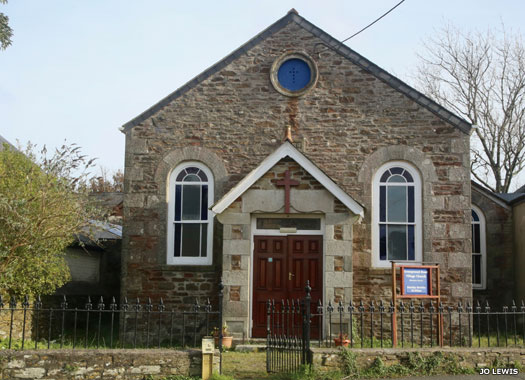 Grampound Road Methodist Chapel, Cornwall