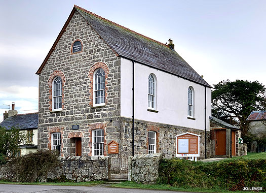 Gunwen Wesleyan Methodist Chapel, Gunwen Cornwall