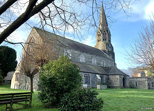 Parish Church of St Bartholomew, Lostwithiel, Cornwall